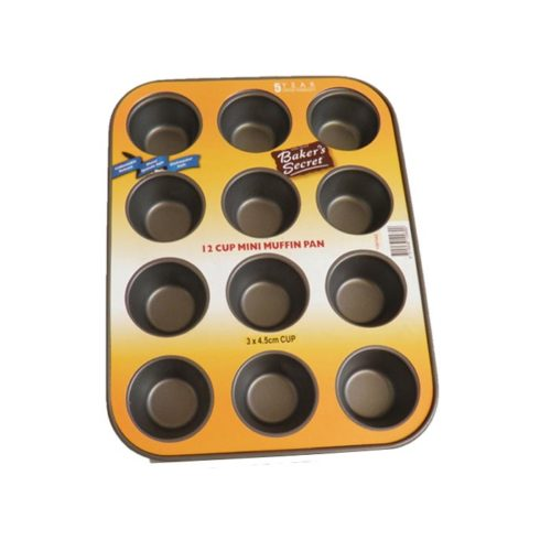 Mini Muffin 12 cup Tray