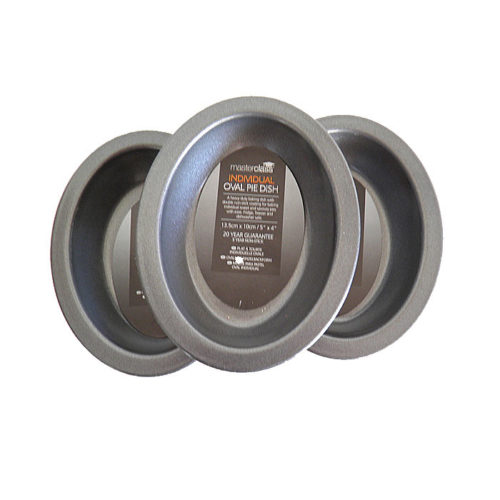 Individual Oval Pie Pans